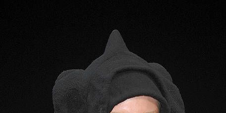 Lip, Eyebrow, Organ, Headgear, Black, Portrait, Painting, Hood, Makeover, Portrait photography,