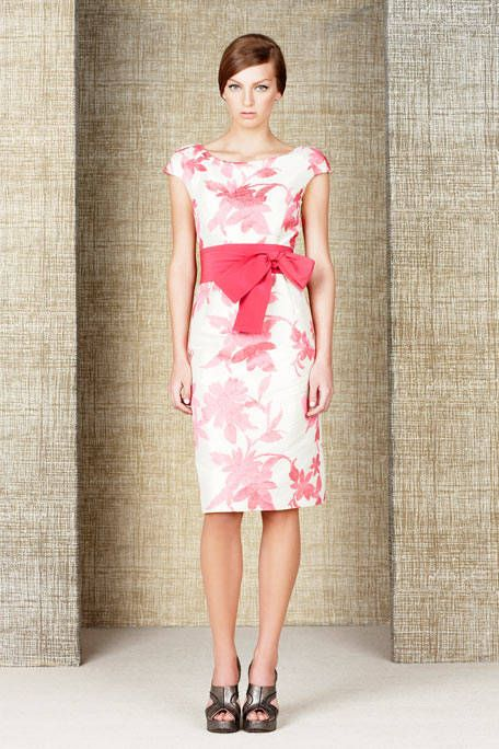 Clothing, Shoulder, Dress, Human leg, Textile, Joint, One-piece garment, Pink, Style, Pattern,