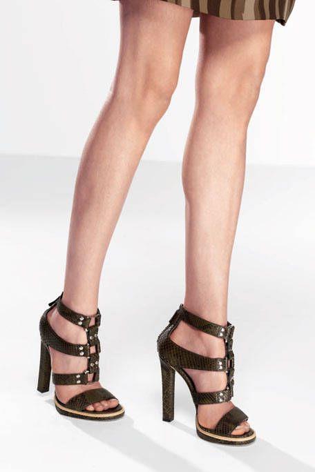 Footwear, Leg, Brown, Human leg, Shoe, Sandal, Joint, High heels, Style, Toe,