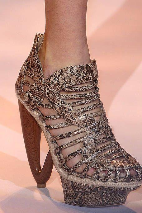 Brown, Joint, Fashion, Tan, Beige, Boot, Fashion design, Foot, Silver, High heels,
