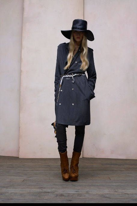 Clothing, Hat, Brown, Sleeve, Human body, Joint, Outerwear, White, Coat, Boot,