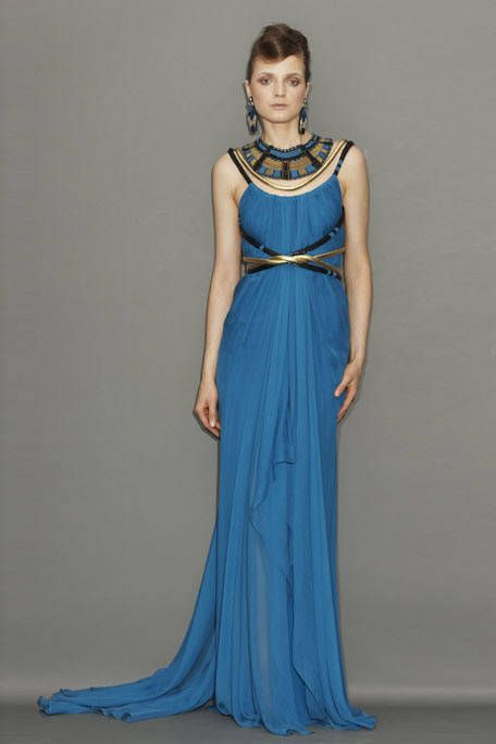 Clothing, Blue, Dress, Shoulder, Joint, Jewellery, Formal wear, One-piece garment, Style, Gown,