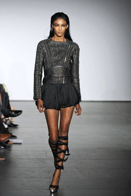 Clothing, Human, Fashion show, Human body, Shoulder, Human leg, Runway, Joint, Fashion model, Style,