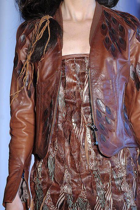Brown, Textile, Fashion, Tan, Liver, Leather, Fashion design, Leather jacket, Silk, Fashion model,
