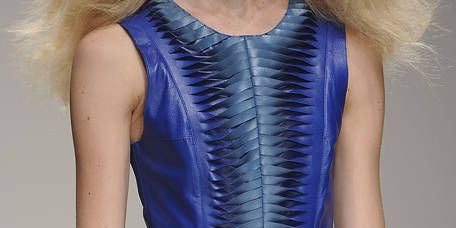 Clothing, Blue, Shoulder, Dress, Joint, One-piece garment, Electric blue, Cobalt blue, Fashion, Day dress,