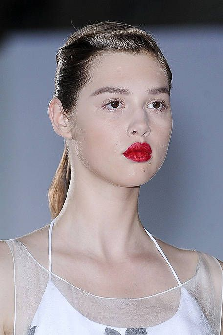 Ear, Lip, Hairstyle, Skin, Forehead, Shoulder, Eyebrow, Eyelash, Style, Jaw,