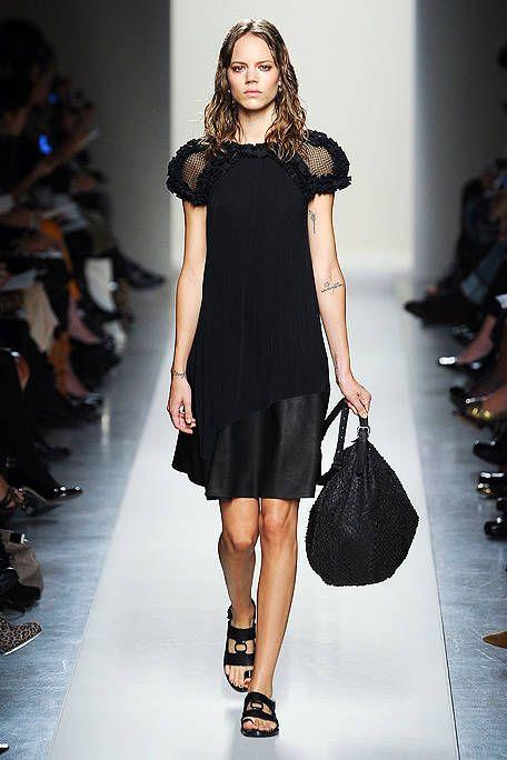 Clothing, Shoulder, Joint, Human leg, Fashion show, Dress, Style, Formal wear, Fashion model, Beauty,