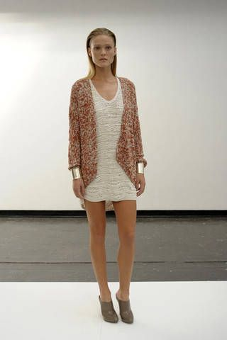 Clothing, Brown, Sleeve, Human leg, Shoulder, Joint, Fashion show, Style, Dress, Knee,