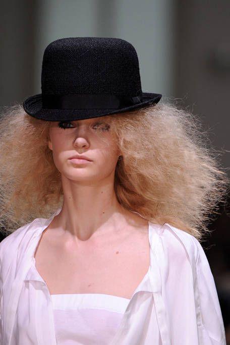 Clothing, Hat, Lip, Hairstyle, Style, Fashion accessory, Headgear, Costume accessory, Sun hat, Fashion,