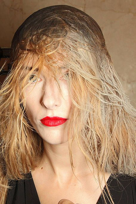 Lip, Hairstyle, Jewellery, Blond, Brown hair, Necklace, Step cutting, Body jewelry, Feathered hair, Layered hair,