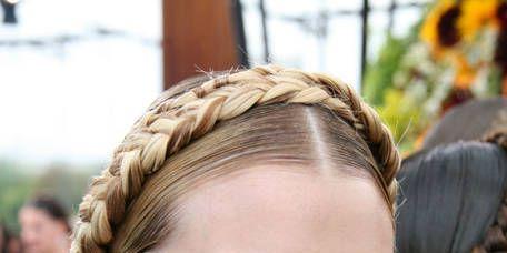 Hair, Head, Ear, Hairstyle, Eyebrow, Hair accessory, Style, Eyelash, Headgear, Fashion accessory,