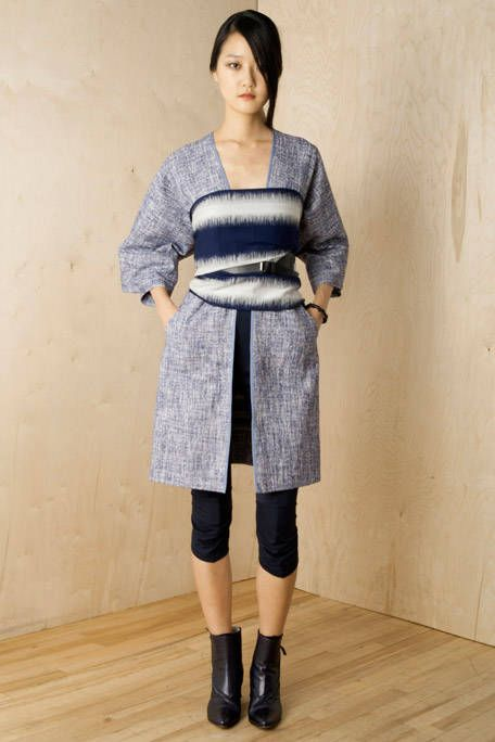 Clothing, Brown, Sleeve, Shoulder, Textile, Joint, Outerwear, Standing, Style, Waist,