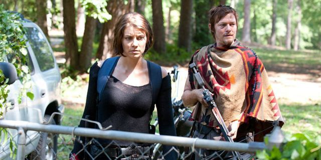 "Lauren Cohan of 'The Walking Dead' Admits ""Guts in Your Hair Really Is No Fun"""