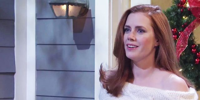 Amy Adams's Unaired 'SNL' Parody Of 'Love Actually' Is Hilarious