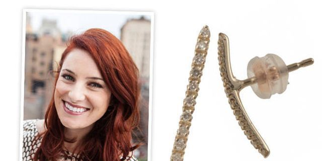 I Bought It: ELLE.com Fashion Editor Alicia Lund's Bar Earring