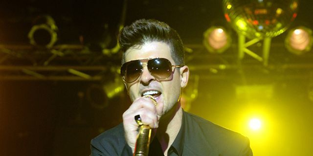 Robin Thicke Named Sexist of the Year