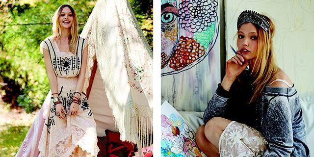 Sasha Pivovarova Models, Paints, and Checks Her Horoscope Just Like Us