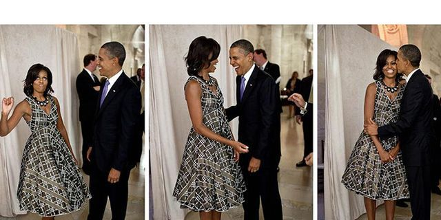 Great Thing of the Day: Michelle Obama's Valentine to Barack