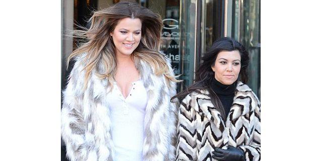 Khloe Kardashian Wears 'F*ck Yo Fur' Coat, Slams PETA