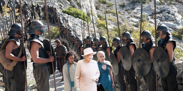 The Queen Is Heading to 'Game of Thrones'