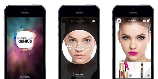Genius New App Lets You Virtually Try on Makeup