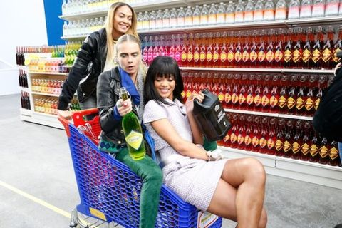 Chanel's Supermarket Sweep - Paris Fashion Week Chanel Fall 2014