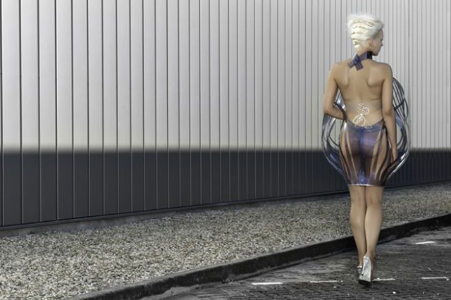 This Dress Turns Transparent When You're 'Turned on'