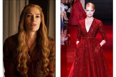Cersei Lannister x Elie Saab Couture FW 2013
