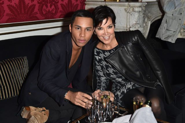 Kris Jenner Explains Why She Cried at the Balmain Show Yesterday
