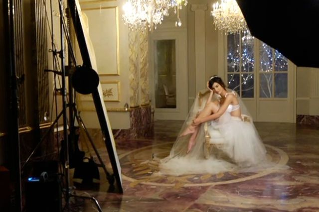 Go Behind the Scenes with Lily Aldridge on her Latest Victoria's Secret Campaign