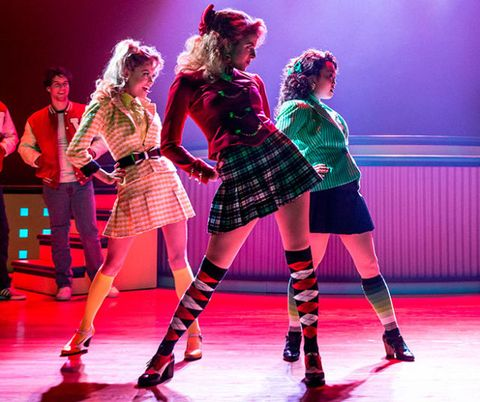 Backstage with the Cast of 'Heathers' - Beauty Tips from the