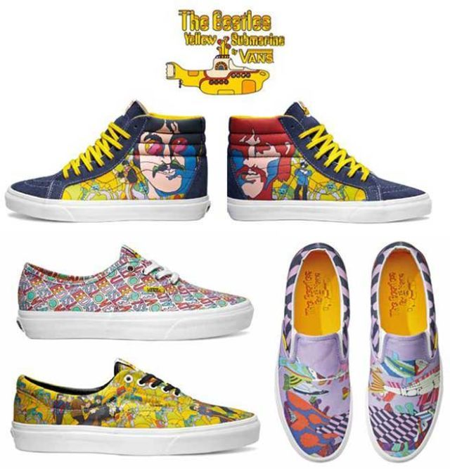 the beatles vans
