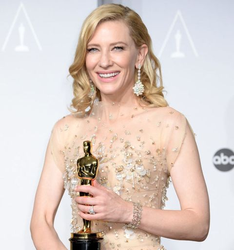 Post-Show Tattoos and Inside Jokes - Cate Blanchett was the Coolest Queen  Bee of the Oscars