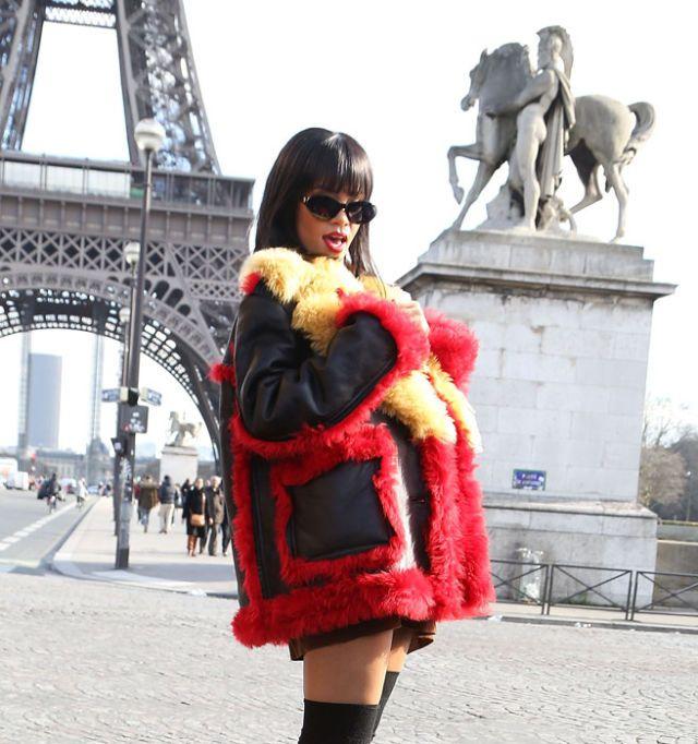 Rihanna vs paris