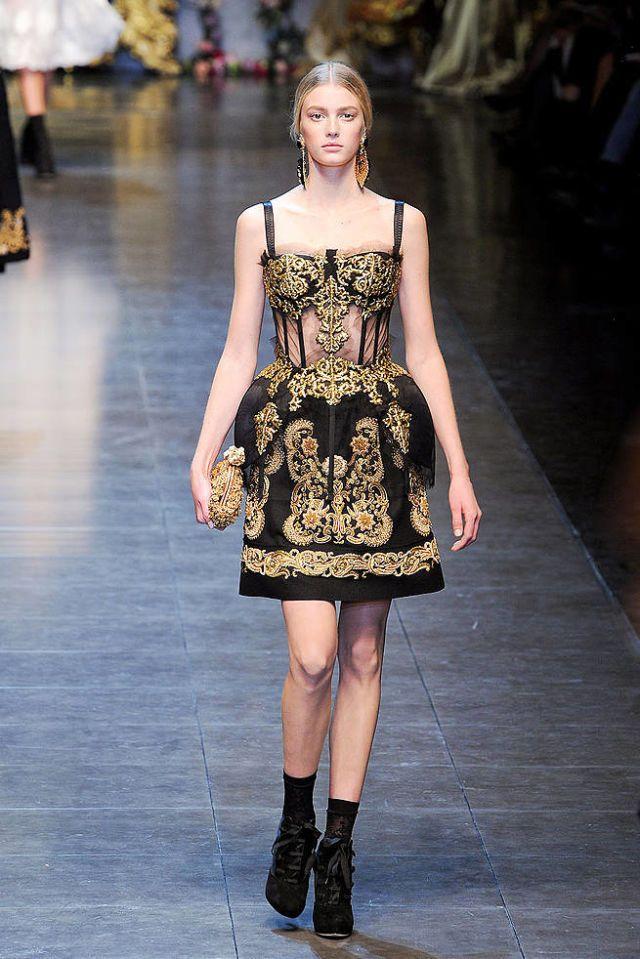0841d00003e6 Dolce & Gabbana Fall 2012 Runway - Dolce & Gabbana Ready-To-Wear Collection