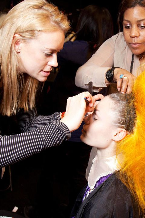 MEADHAM KIRCHHOFF FALL 2012 RTW BACKSTAGE 003