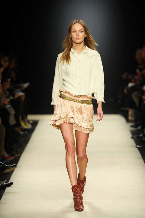 Isabel marant FALL 2012 RTW podium 002