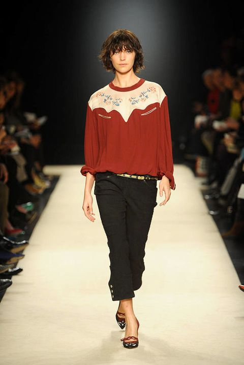 Isabel marant FALL 2012 RTW podium 001
