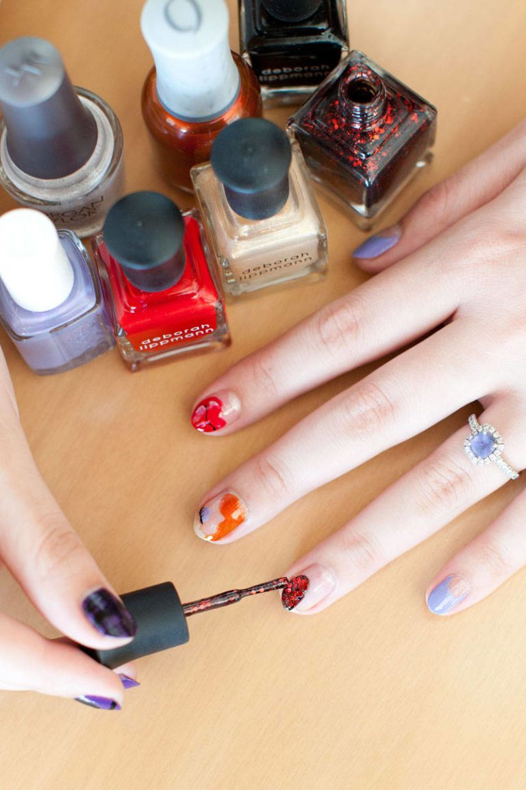 Comic-Con Nail Art Designs - 5 Comic-Con-Inspired Nail Art Looks
