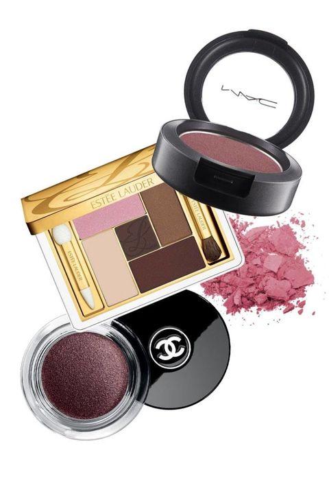 Magenta, Pink, Purple, Violet, Cosmetics, Lavender, Tints and shades, Eye shadow, Peach, Circle,