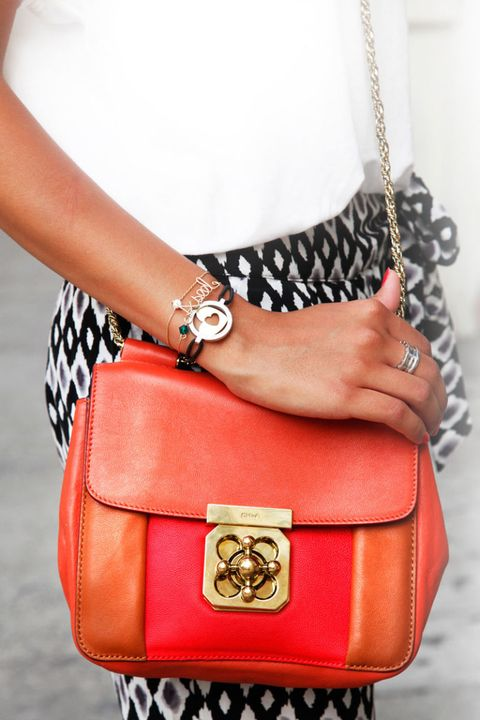 aseel orange bag