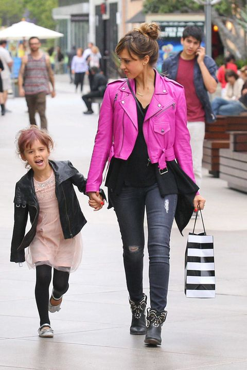 Jessica Alba & Honor Warren: Go Girly or Go Home