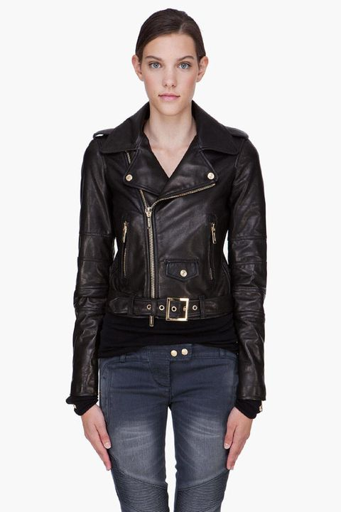 dsquared 2 black ms kiodo leather motorcycle jacket
