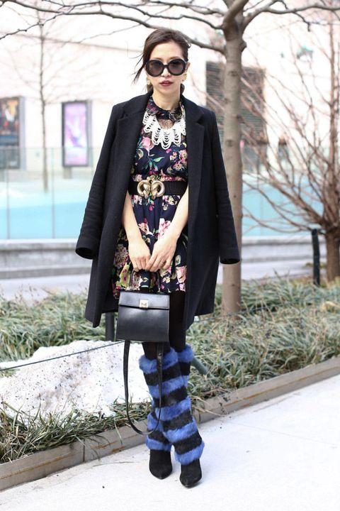 Clothing, Eyewear, Vision care, Glasses, Textile, Bag, Coat, Outerwear, Sunglasses, Street fashion,