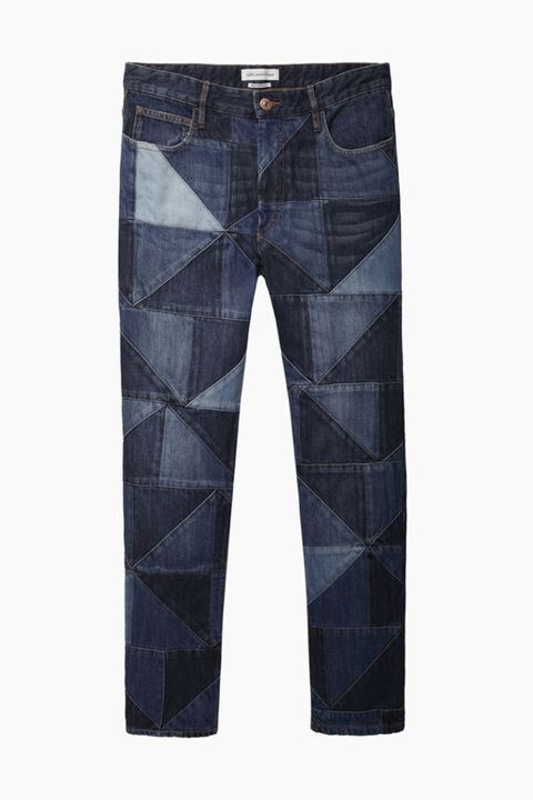Clothing, Blue, Trousers, Denim, Textile, Pocket, Electric blue, Teal, Natural material, Button,