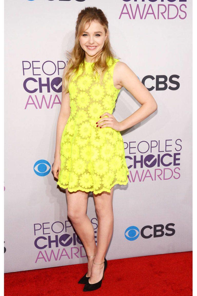 chloe moretz people's choice awards 2013