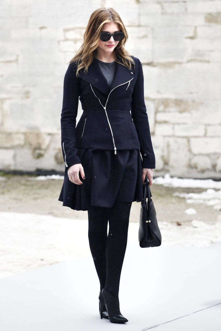 chloe moretz dior haute couture 2013