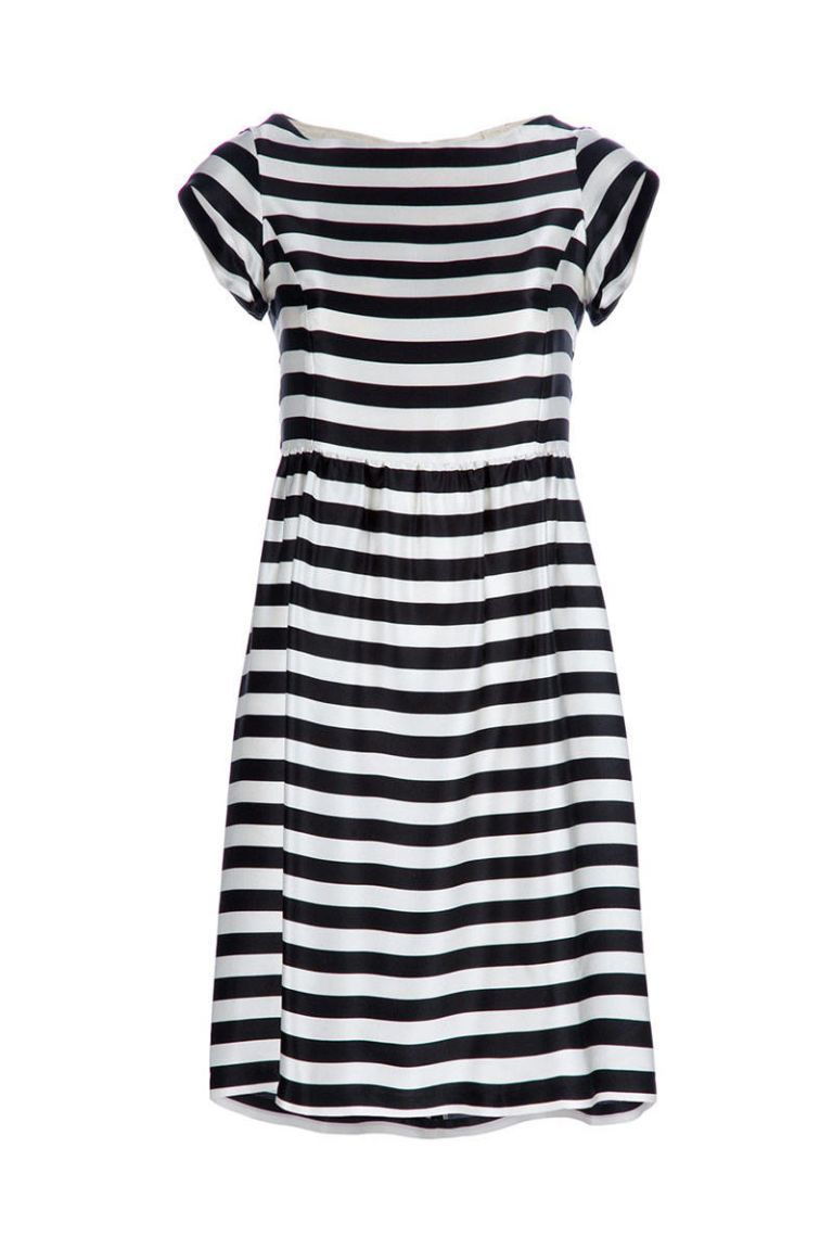 coast weber ahaus striped dress