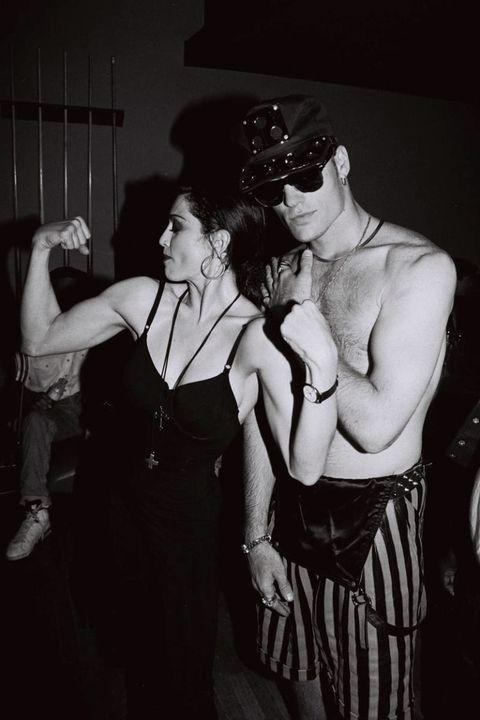 Madonna and Vanilla Ice