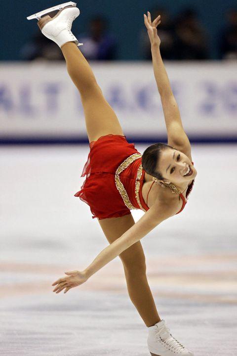 Then: Michelle Kwan